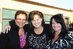 Kathy Vasquez, Meg Mitchell & Christy Willis on Friday night