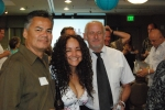Eddie & Blanca Acosta with Russell Kimmick